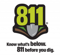 Know what's below. 811 before you dig.